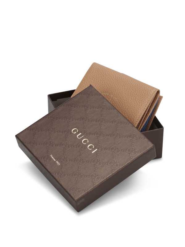 iKRIX GUCCI: Bicolour flap french wallet