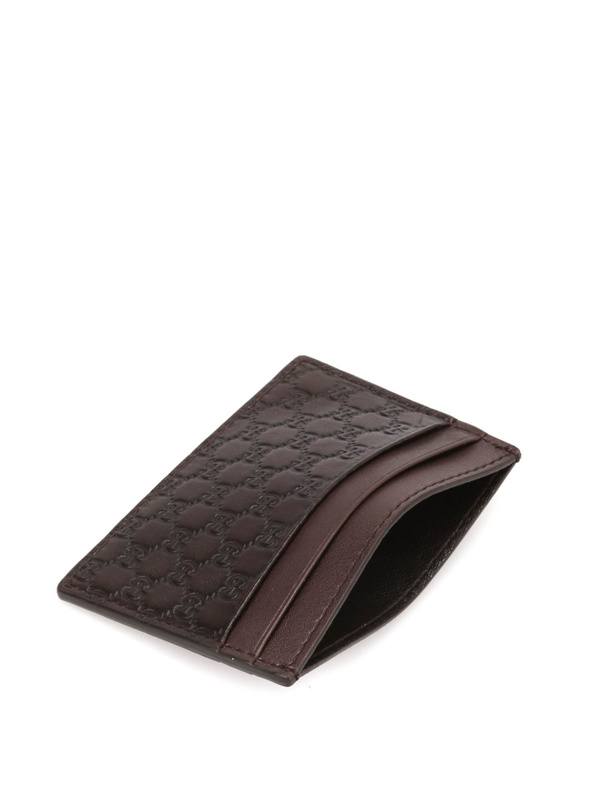 Gucci buy online Microguccissima card case