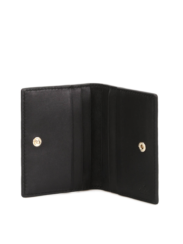 Gucci buy online Microguccissima leather card case
