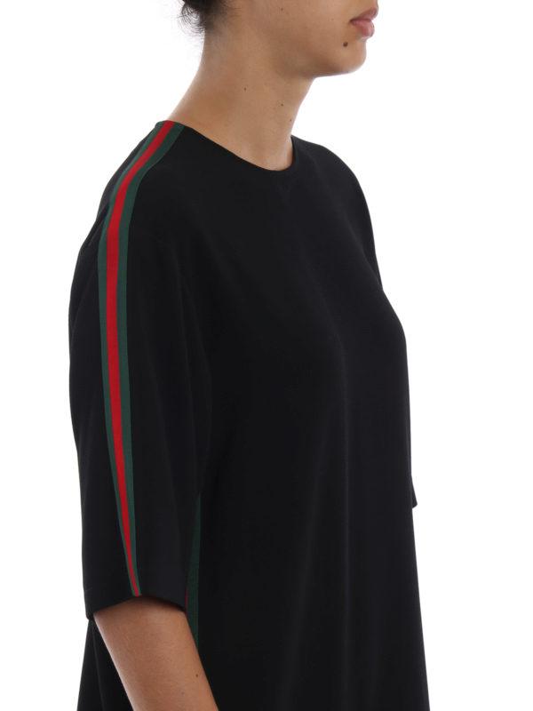 GUCCI buy online Knielanges Kleid - Schwarz