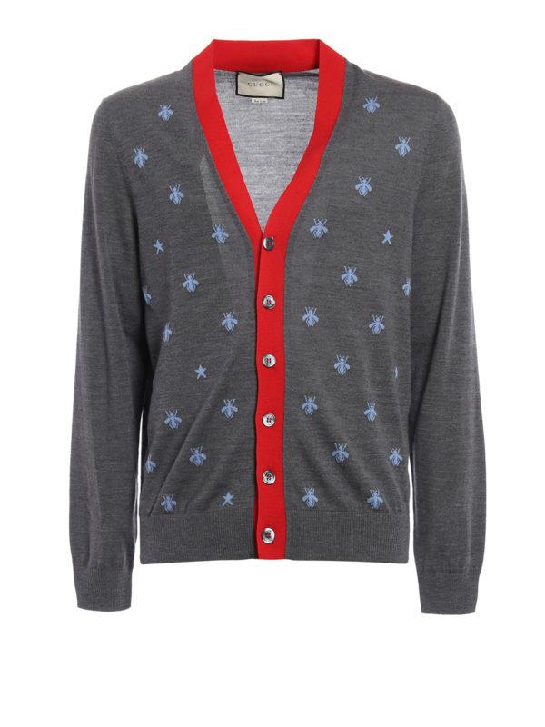 Gucci: Cardigans - Cardigan - Gemustert