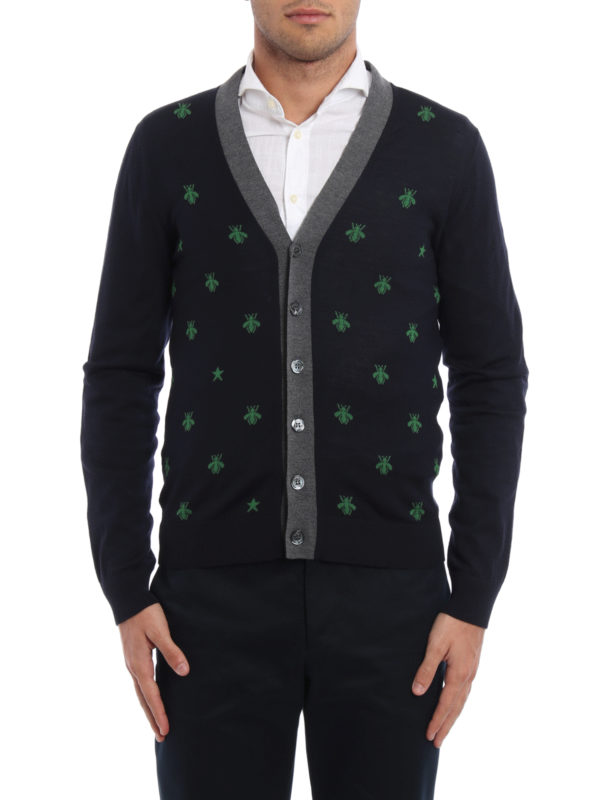 Gucci: Cardigans online - Cardigan - Gemustert