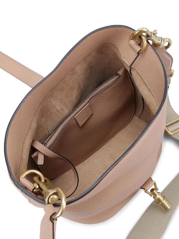 iKRIX GUCCI: Jackie soft leather bucket bag