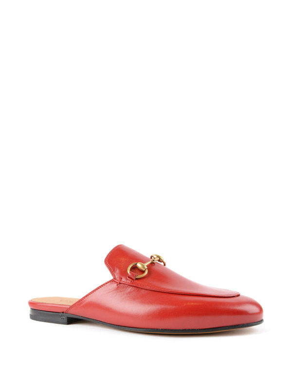 Gucci: Mokassins und Slippers online - Slippers - Rot