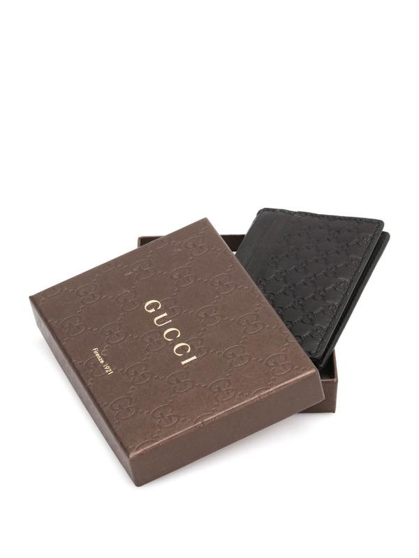 iKRIX GUCCI: Kartenetui aus Guccissima-Leder