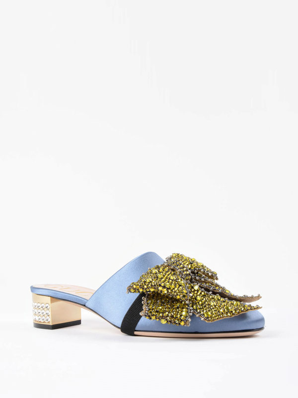 GUCCI: Mokassins und Slippers online - Slippers - Gemustert