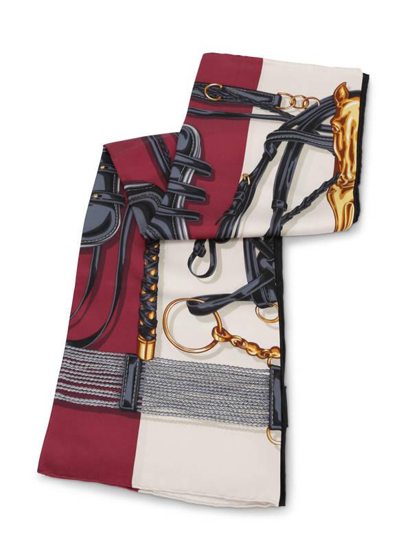 GUCCI: scarves online - Equestrian print scarf