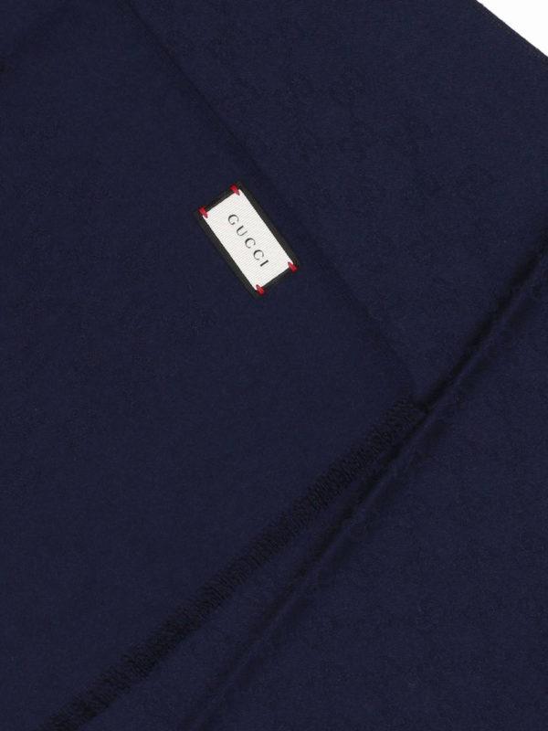 GUCCI: Schals online - Schal - Blau