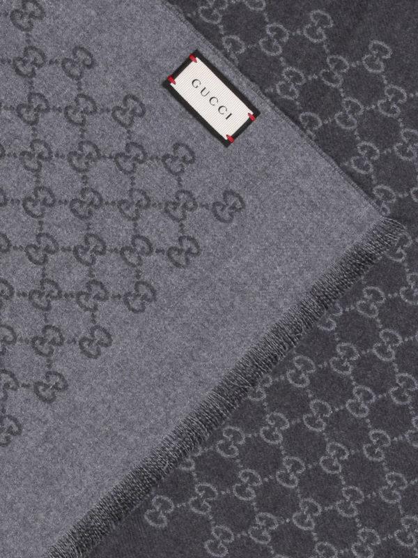 Gucci: Schals online - Schal - Grau