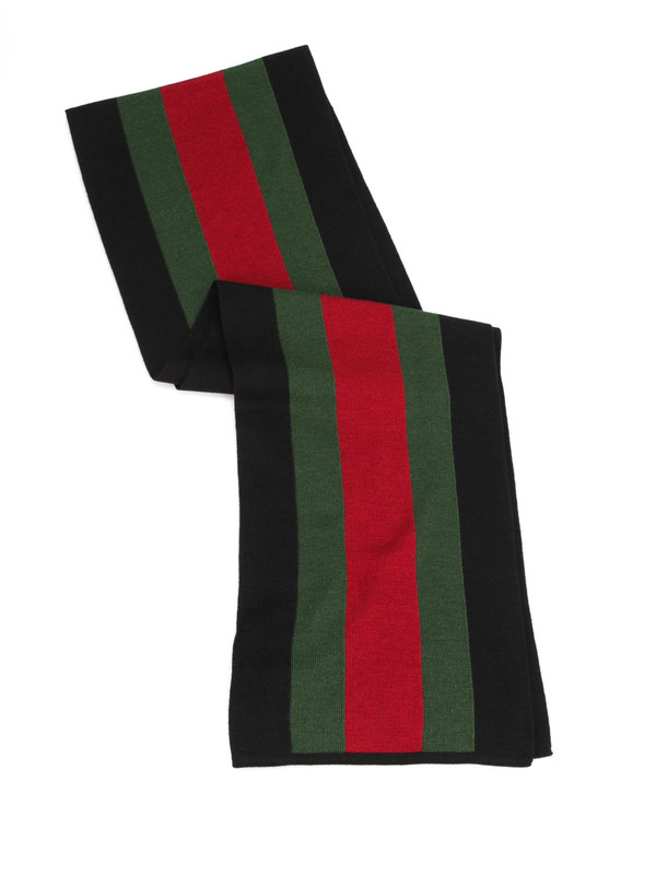 GUCCI: scarves online - Web knit scarf