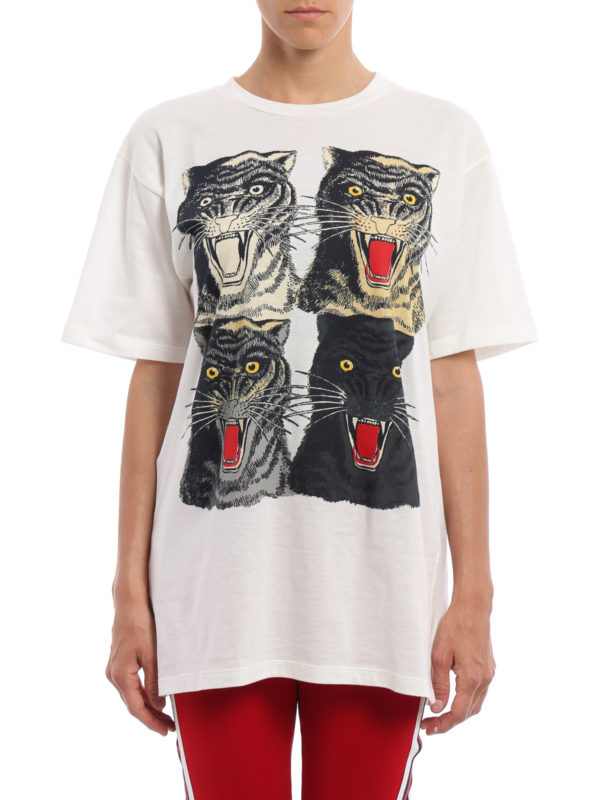 GUCCI: T-shirts online - T-Shirt - Weiß
