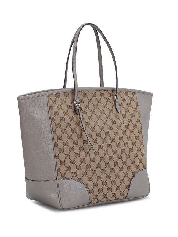 GUCCI: totes bags online - Bree Original GG canvas handle bag