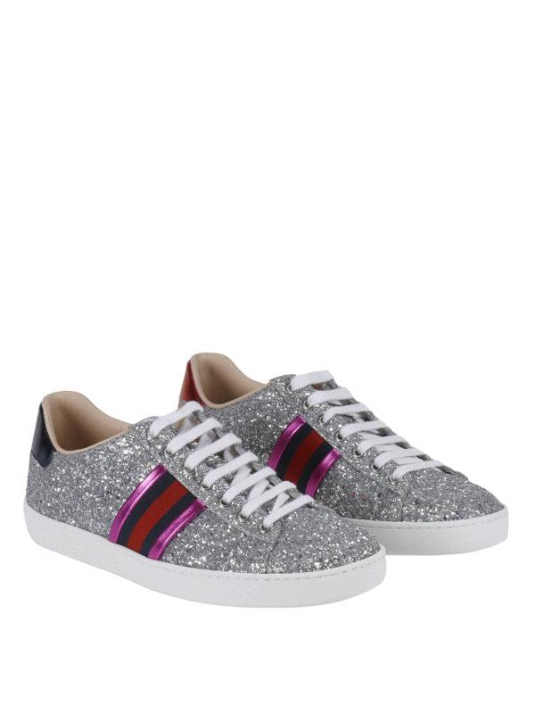 GUCCI: Sneaker online - Sneaker - Silber