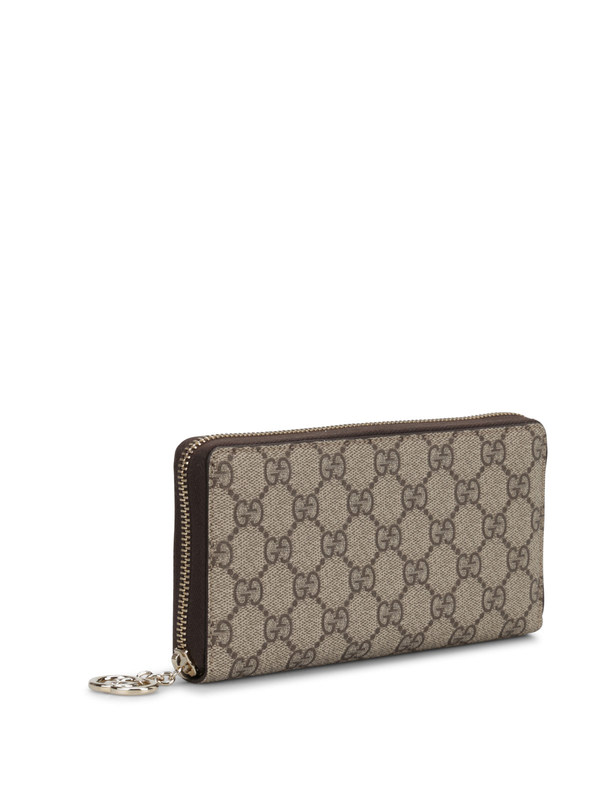 GUCCI: wallets & purses online - GG Supreme canvas wallet
