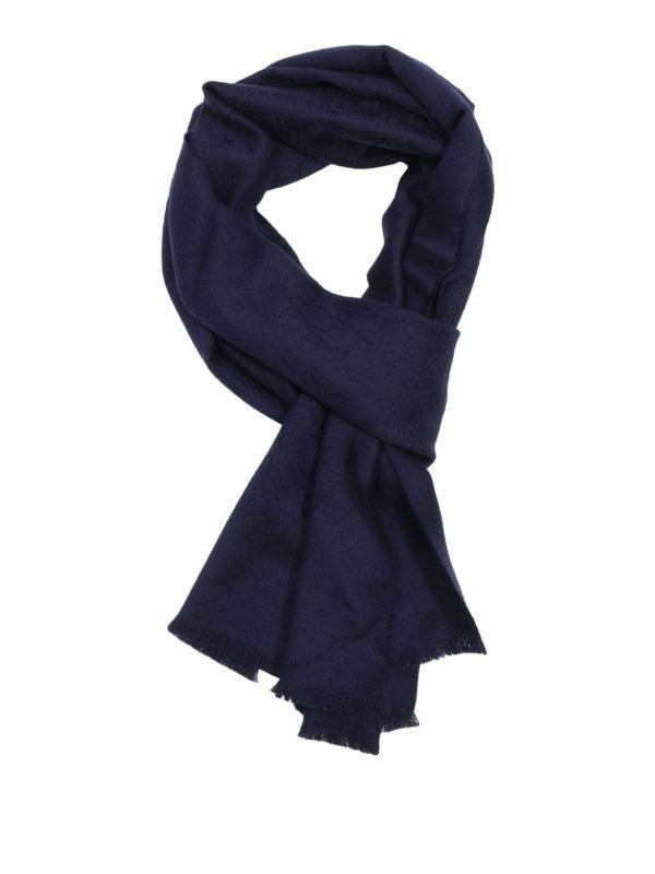Gucci: Schals - Schal - Blau