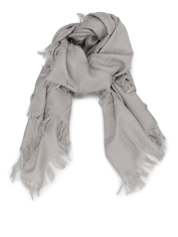Gucci: Schals - GG jacquard wool silk scarf
