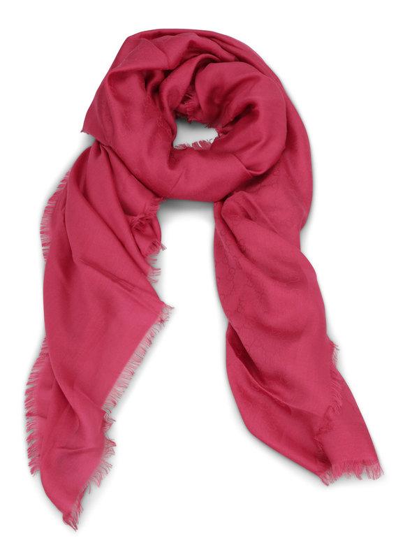 Gucci: Schals - GG wool blend scarf