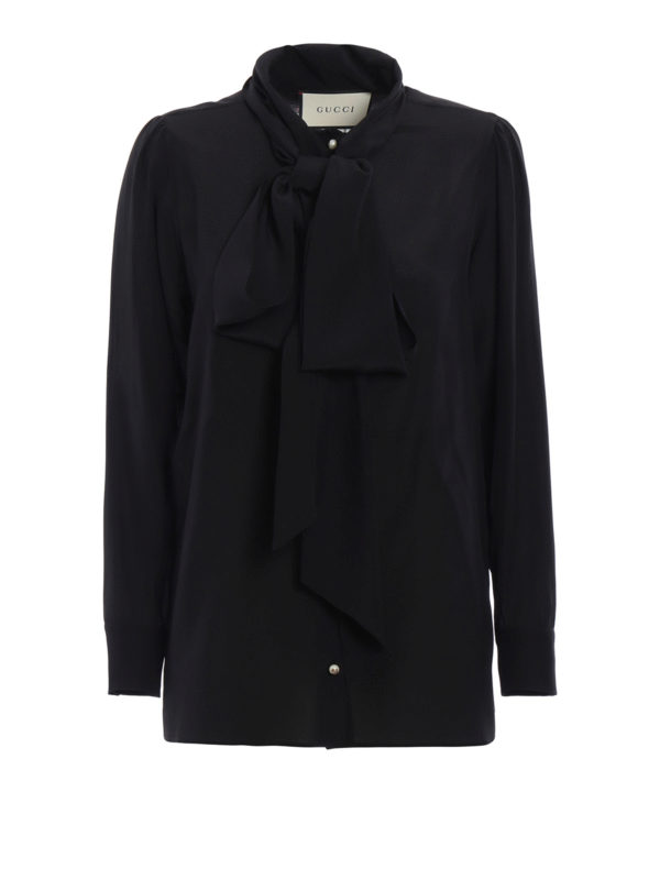Gucci: Hemden - Hemd - Schwarz