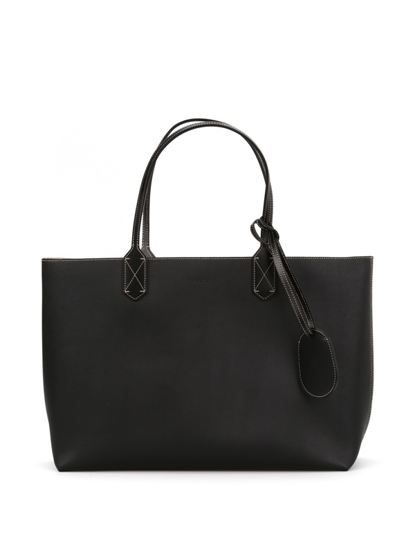 Gucci: shoulder bags - Reversible GG leather tote
