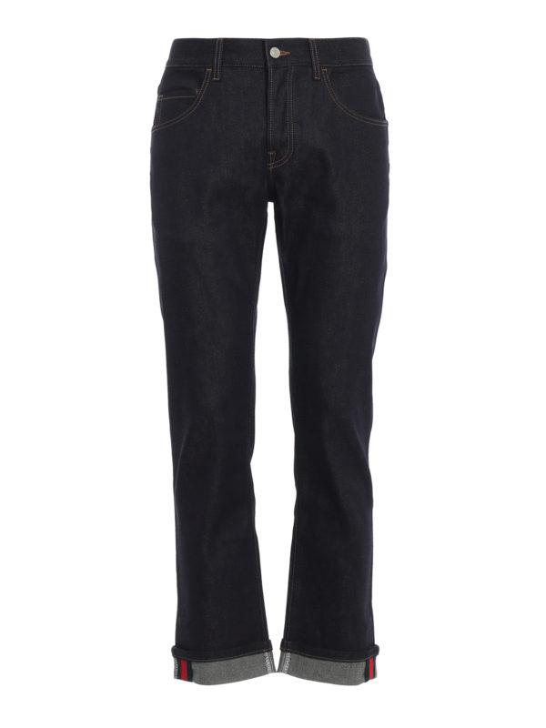GUCCI: Skinny Jeans - Skinny Jeans - Dunkelblau