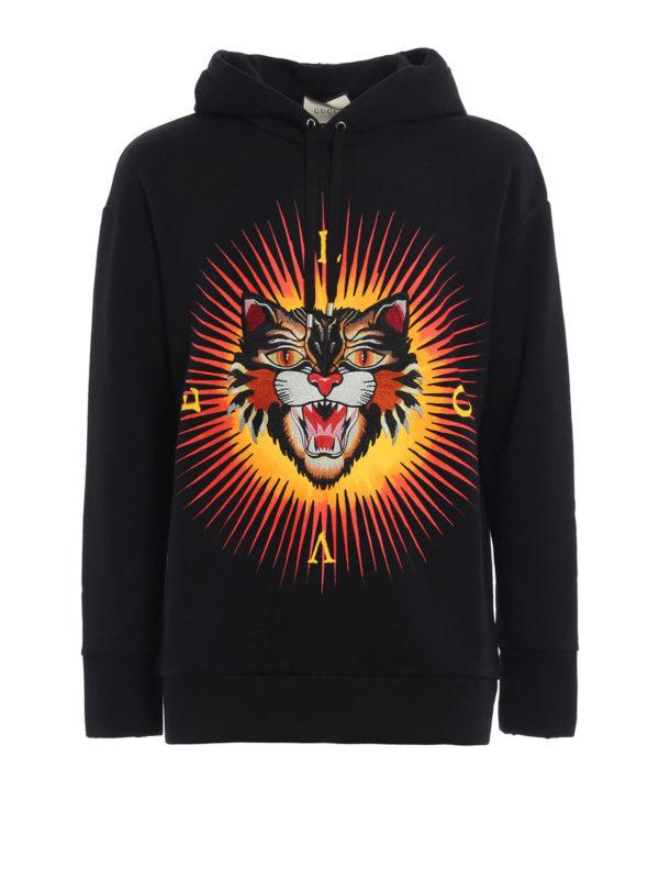 Gucci: Sweatshirts und Pullover - Sweatshirt - Schwarz