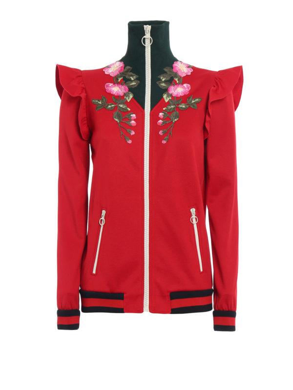 Gucci: Sweatshirts und Pullover - Sweatshirt - Gemustert