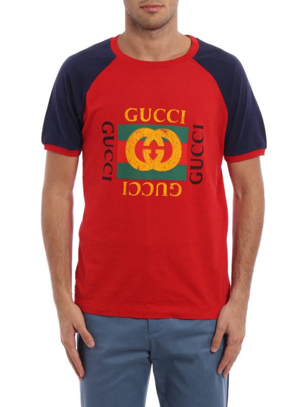 Gucci: T-shirts online - T-Shirt - Rot