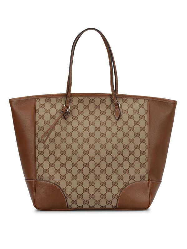 Gucci: totes bags - Bree GG canvas tote