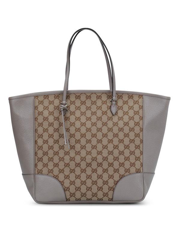 Gucci: totes bags - Bree Original GG canvas handle bag