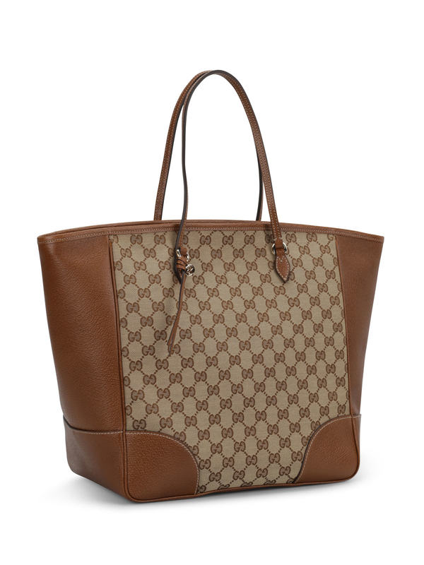 Gucci: totes bags online - Bree GG canvas tote