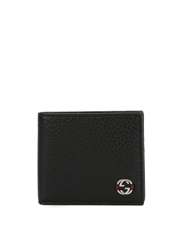 GUCCI: wallets & purses - Bi-fold leather wallet