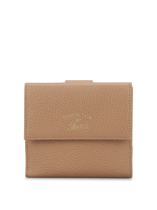 Gucci: wallets & purses - Bicolour flap french wallet