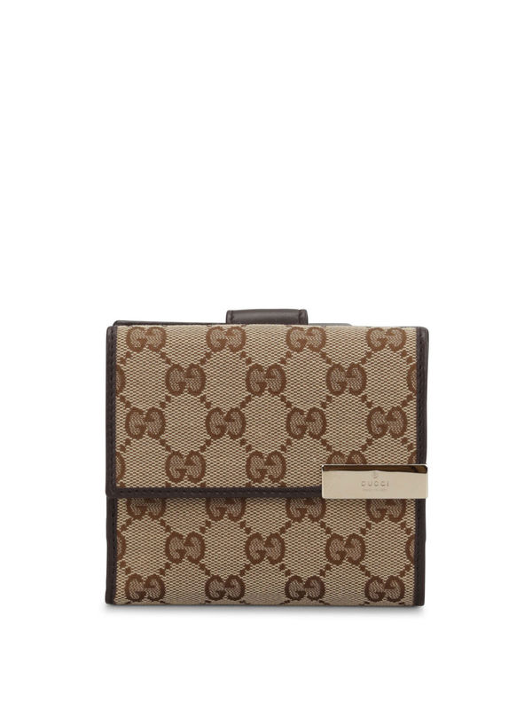 Gucci: Portemonnaies und Geldbörsen - GG canvas french wallet