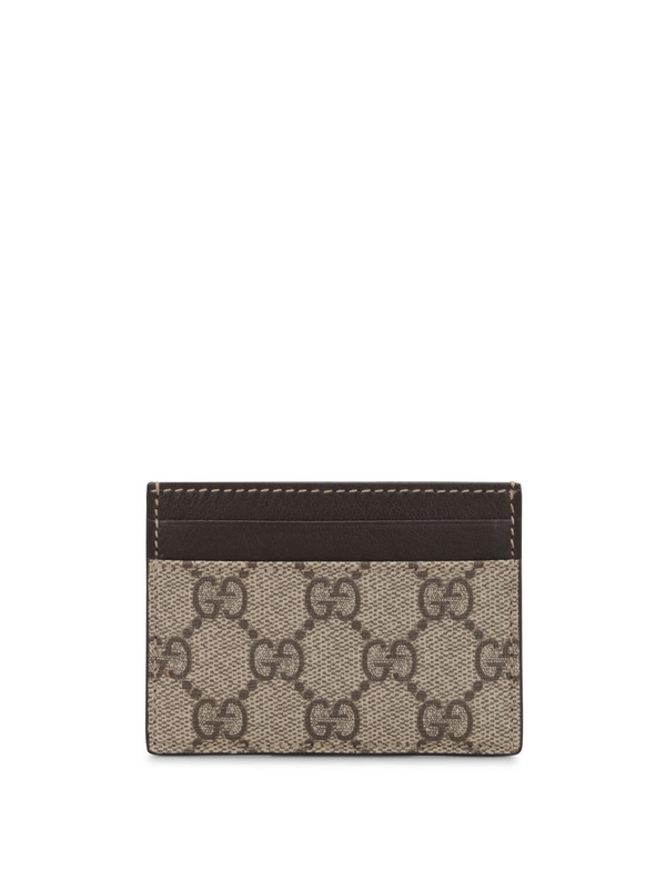 Gucci: wallets & purses - GG Supreme card case