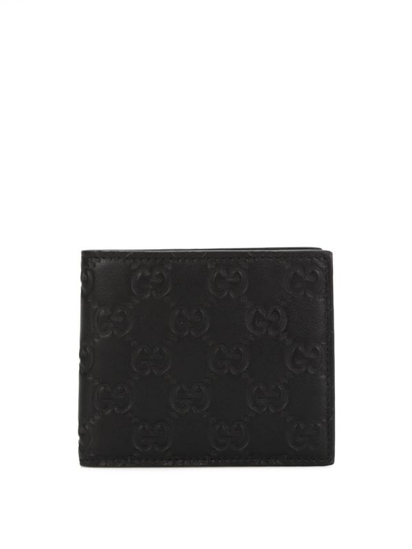 Gucci: Portemonnaies und Geldbörsen - Microguccissima bi-fold wallet