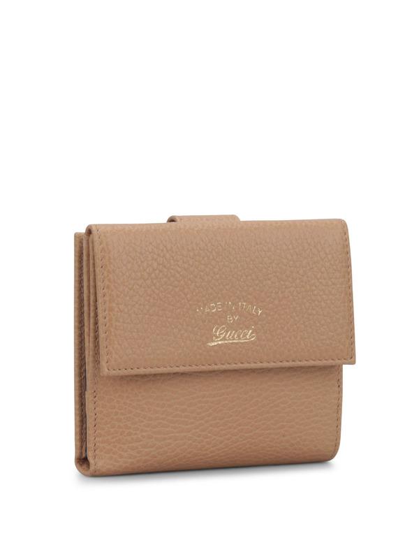 Gucci: wallets & purses online - Bicolour flap french wallet