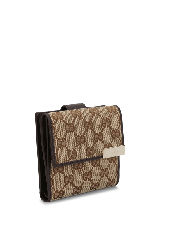 Gucci: wallets & purses online - GG canvas french wallet
