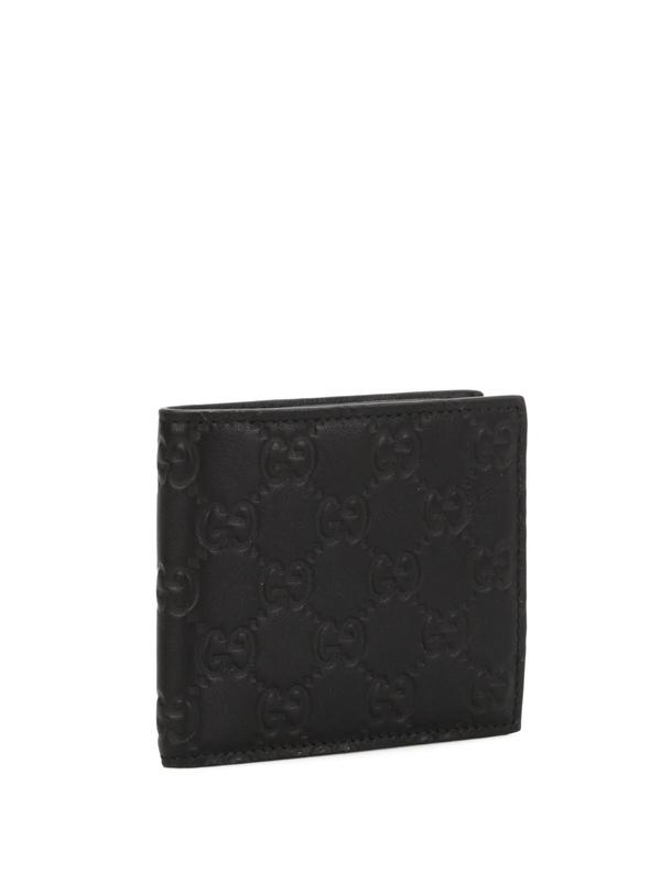 Gucci: Portemonnaies und Geldbörsen online - Microguccissima bi-fold wallet