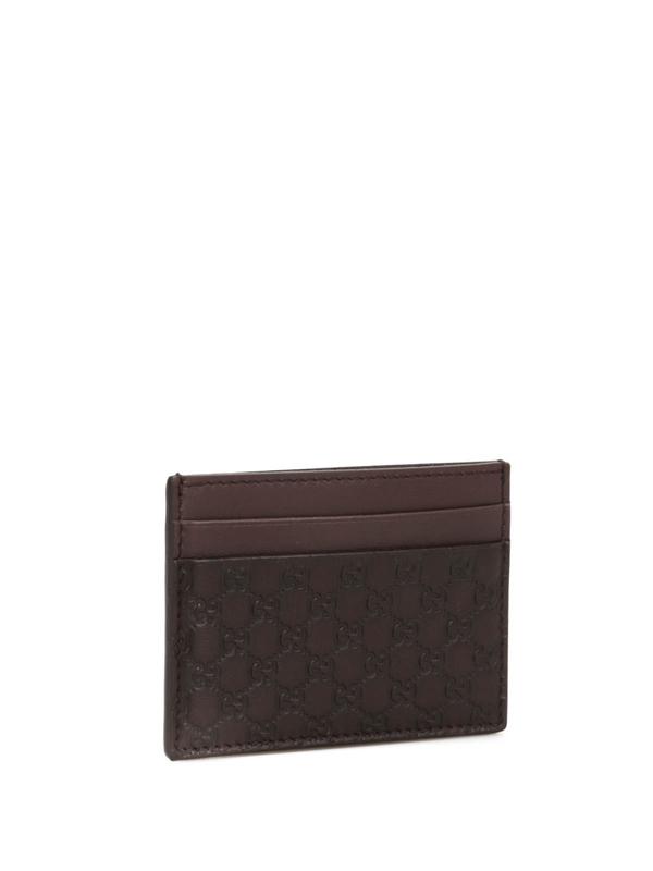 Gucci: Portemonnaies und Geldbörsen online - Microguccissima card case