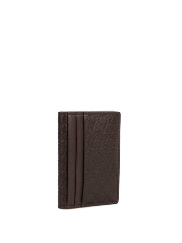 Gucci: wallets & purses online - Microguccissima leather card case