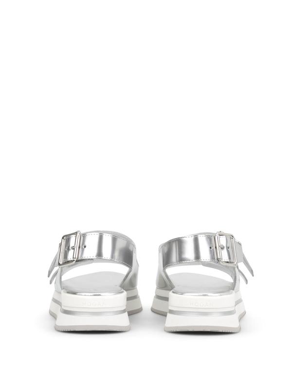 Sandalen Fur Damen - Silber shop online: HOGAN