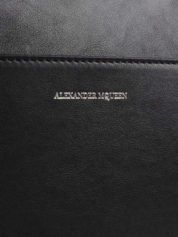 Aktentasche - Einfarbig shop online: Alexander Mcqueen