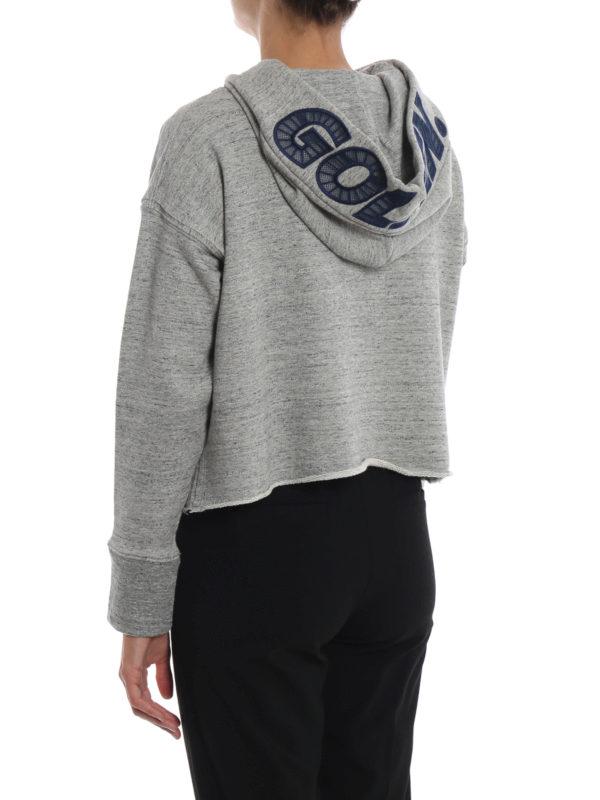 Sweatshirt - Grau shop online: GOLDEN GOOSE