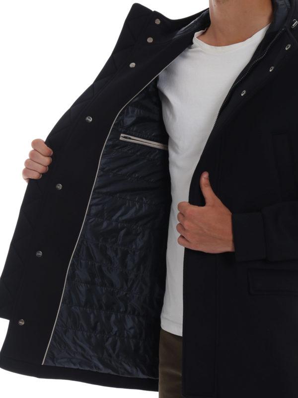 HERNO buy online Kurzer Mantel - Blau