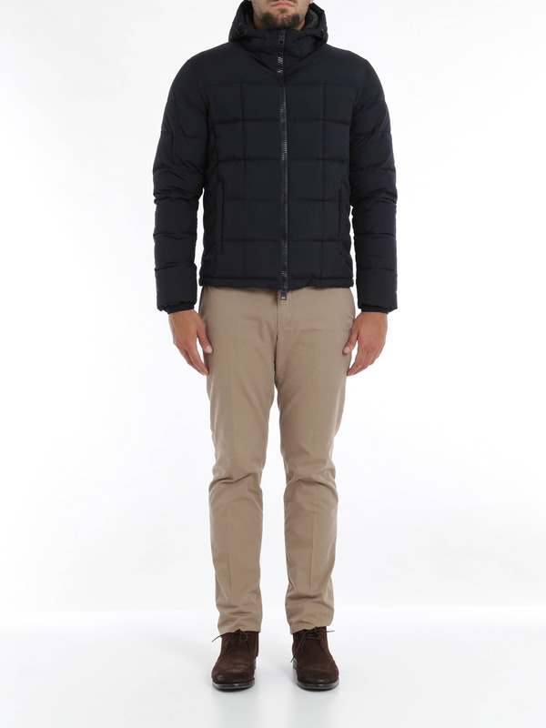 Herno: padded jackets online - Laminar short padded jacket