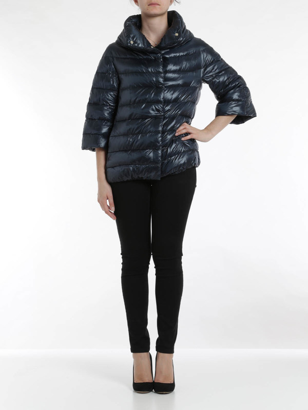 Herno: padded jackets online - Padded cape