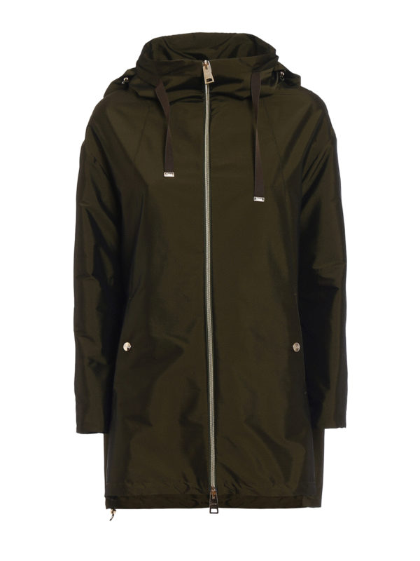 HERNO: parkas - Pull-out hood parka