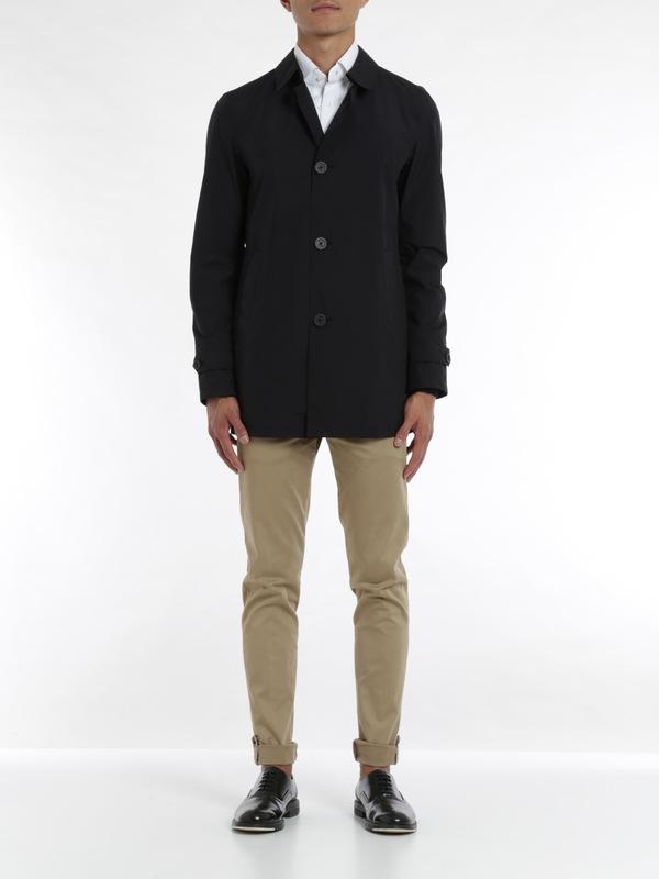Herno: trench coats online - Laminar raincoat