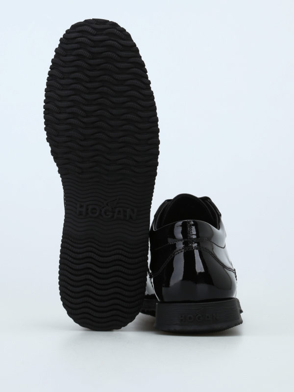 HOGAN buy online Traditional patent leather lace-ups