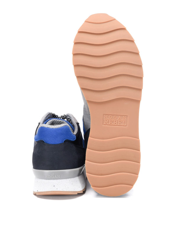 Hogan buy online Trainers with suede inserts